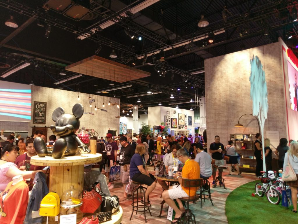 Disney DCPI Booth D23 Expo 2017