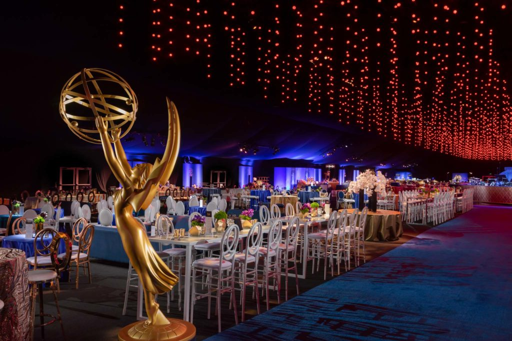 "2018 ""70th Emmys Governors Ball"". Produced by Sequoia Productions. Photography by Jerry Hayes Photography."