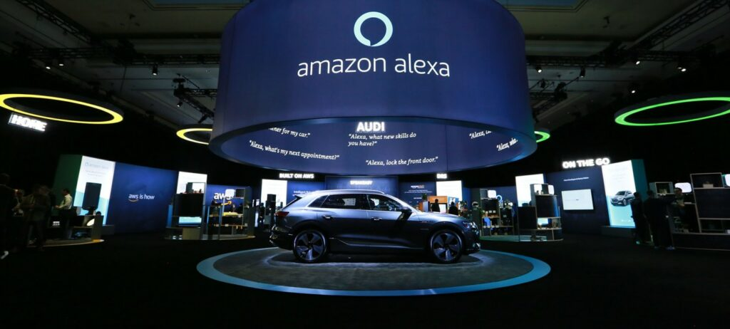 CES 2019 Amazon Alexa / AWS (Amazon Web Services) Exhibition Room